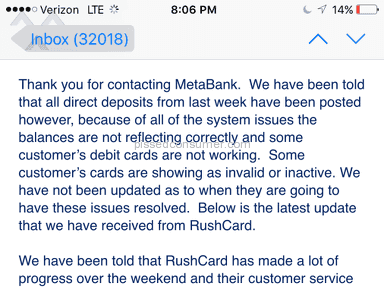 Rush Card Direct Deposit Information Applycard Co