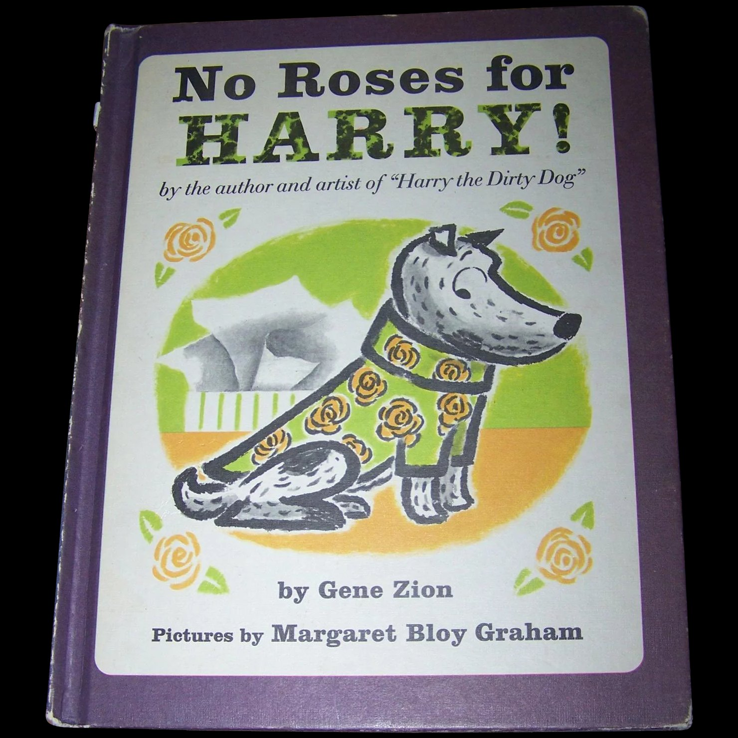 Children S Book No Roses For Harry By Gene Zion Victoria