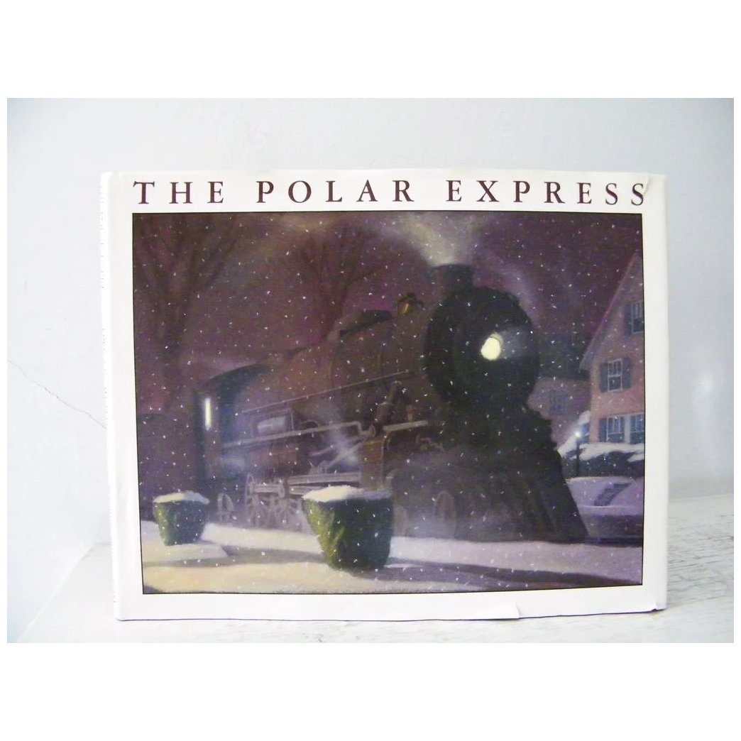 2 Books The Polar Express 1st Edition And 2nd Book