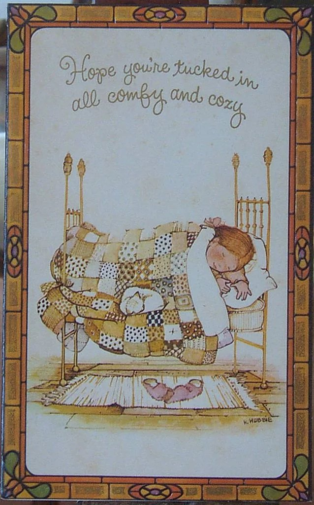Holly Hobbie Greeting Cards Carolines Collectibles