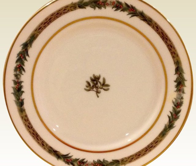 Christmas Classic Salad Plate By Department