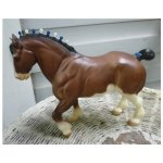 Vintage Highland Clydesdale Stallion Breyer Horse Mold 80 Chez Marianne Ruby Lane