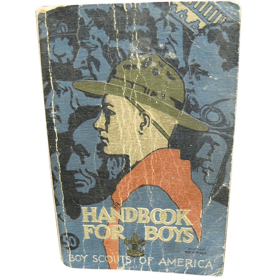 Boy Scouts Of America Handbook For Boys 1st Edition 30th Printing From Faywrayantiques On Ruby Lane