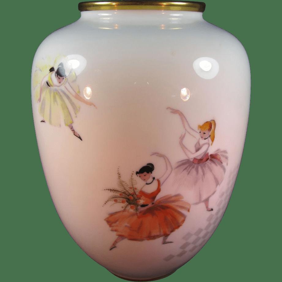 Vase White Porcelain German