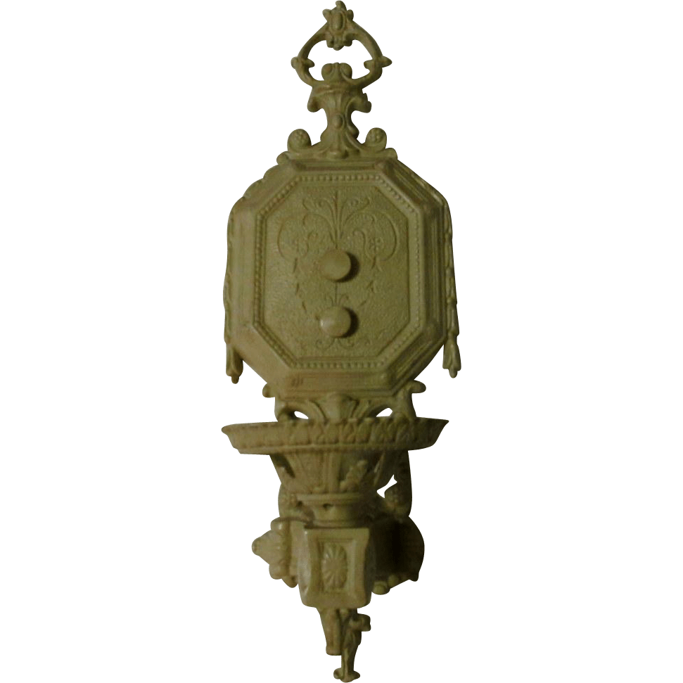 Wall Sconce, Vintage Victorian / Greek Revival from ... on Victorian Wall Sconces id=45175