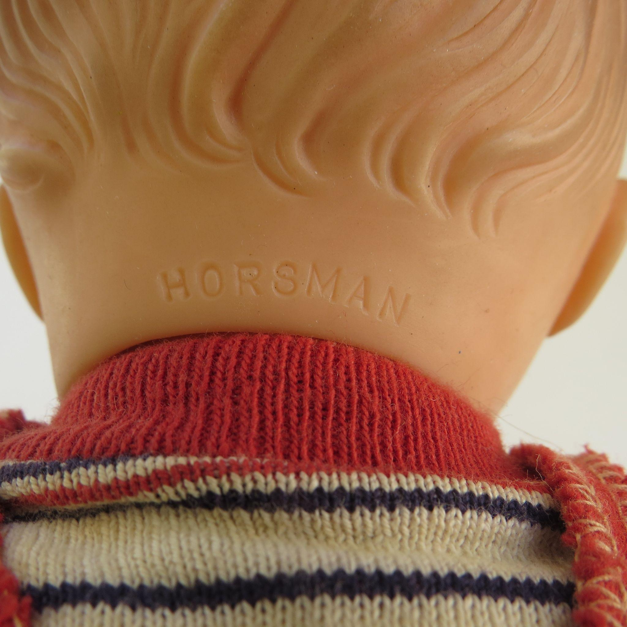 Vintage 1950s Boy Horsman Doll From Blacktulip On Ruby Lane