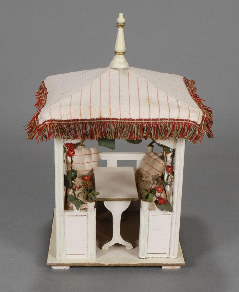 Darling German Dollhouse Gazebo From Carmeldollshop On