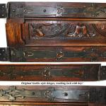 Details About Pair Antique Victorian 20 Carved Architectural Furniture Door Panels Gothic