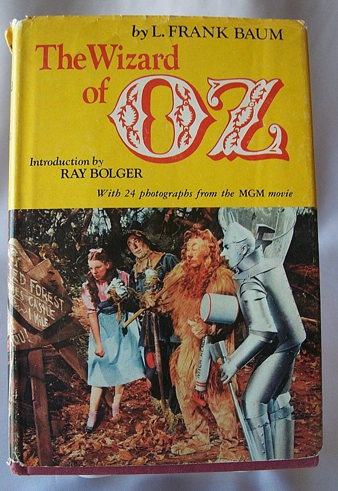 The Wizard Of Oz Book From Colemanscollectibles On Ruby Lane