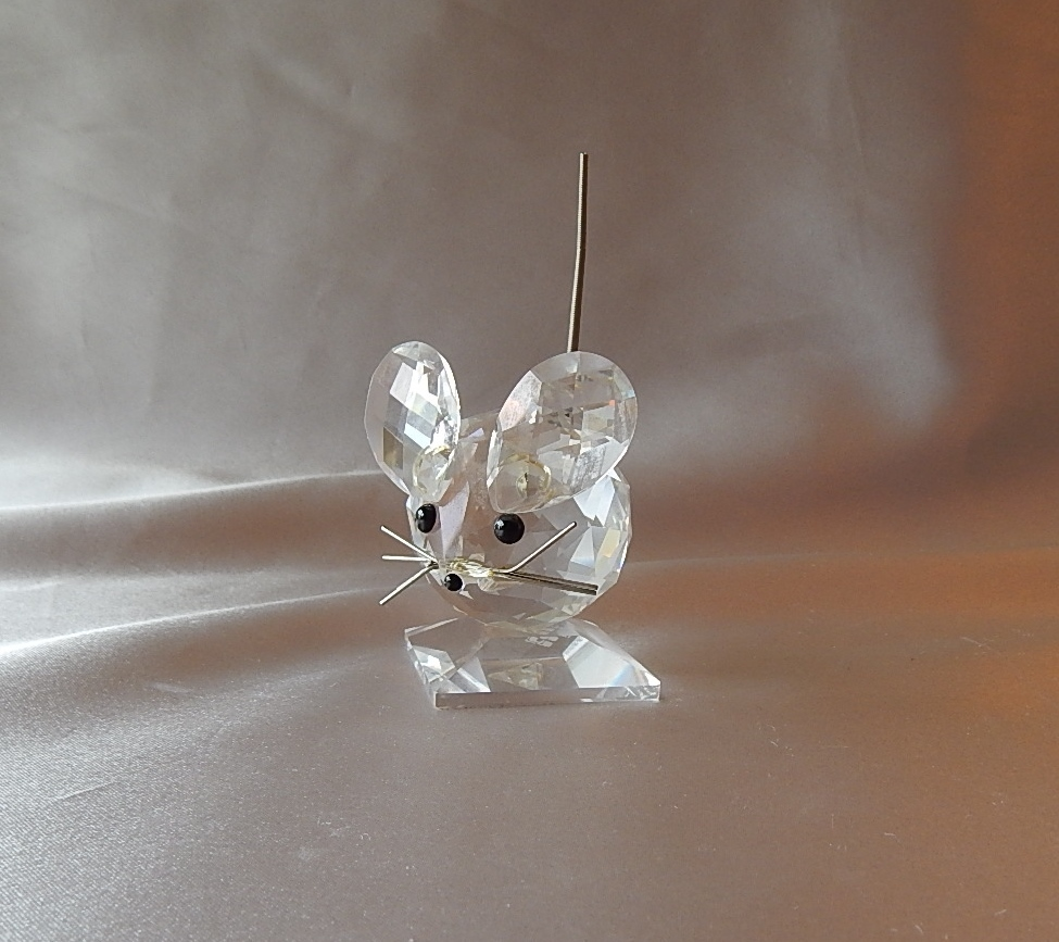Swarovski Crystal Mouse Figurine From Colemanscollectibles