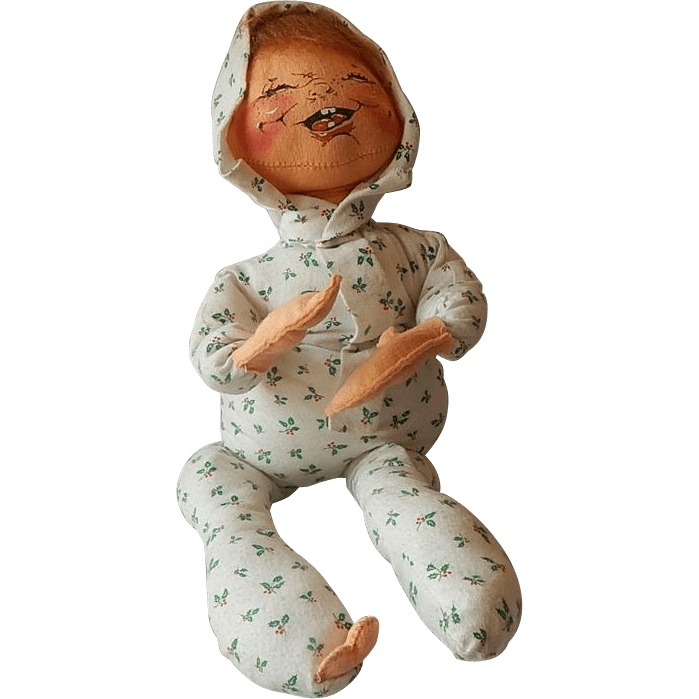 Annalee Mobilitee Baby Doll In Layette