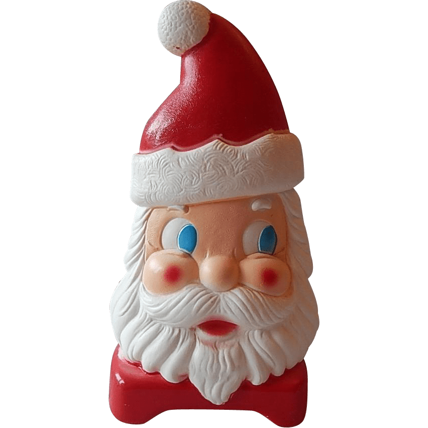 Side View Santa Claus Face