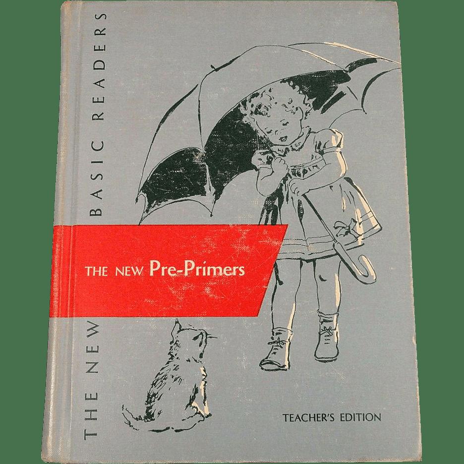 The New Pre Primers Teacher S Edition Vintage Scott