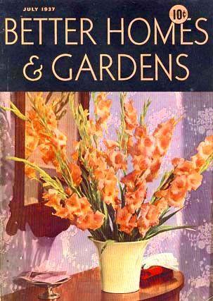 July 1937 Better Homes Amp Gardens Magazine Advertising