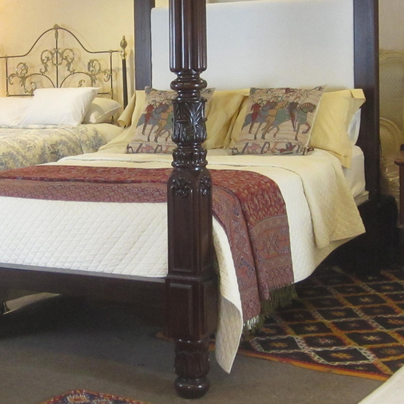Mahogany Four Poster Bed From Seventh Heaven On Rubylux