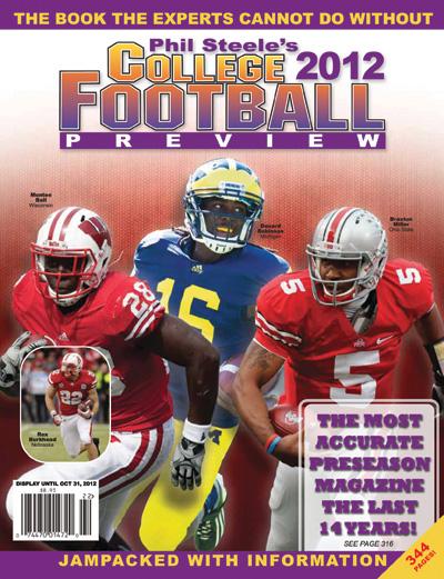 2012 Preseason Football Magazine Review: Phil Steele | The Sports Daily