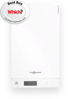 Vitodens 100-W gas condensing boiler