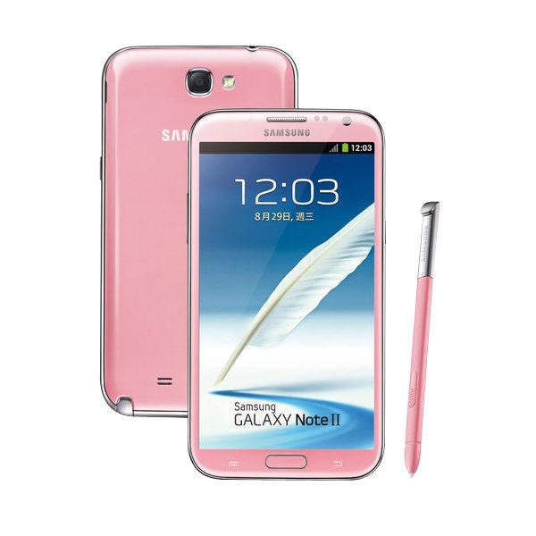 Samsung GALAXY Note 2 再添新色,櫻花粉預計 2 月底開賣 | T客邦