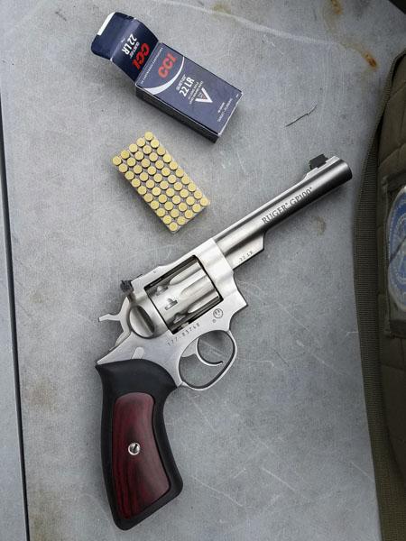 Gun Review Ruger Gp100 22lr