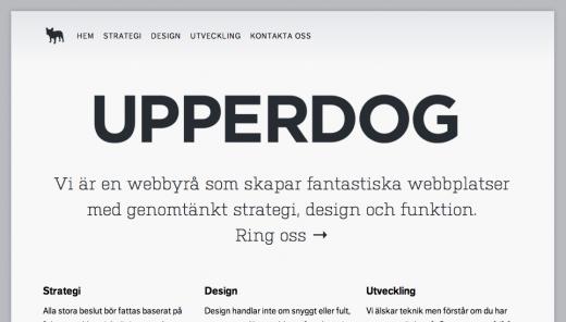 UPPERDOG 520x296 10 Beautiful examples of responsive Web design