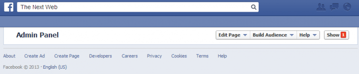 fb page 730x152 Facebook is investigating user reports of Timelines on profiles and Pages failing to load (Update: Fixed)
