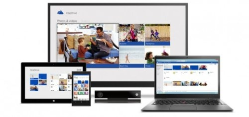 OneDrive 520x245 Microsoft SkyDrive becomes OneDrive, gets camera backup for Android, real time co authoring, and easier video sharing