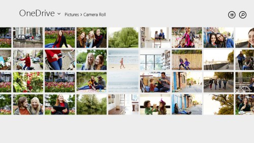 OneDrive on Windows 8 CameraRoll Microsoft SkyDrive becomes OneDrive, gets camera backup for Android, real time co authoring, and easier video sharing