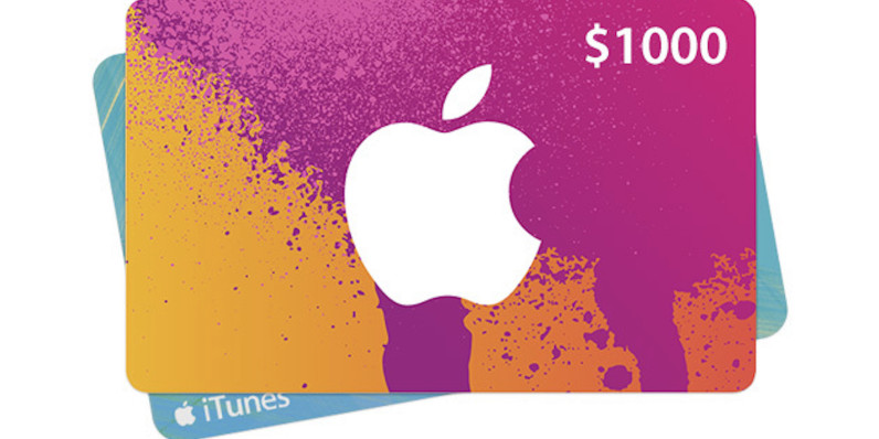 Image result for apple gift card $1000