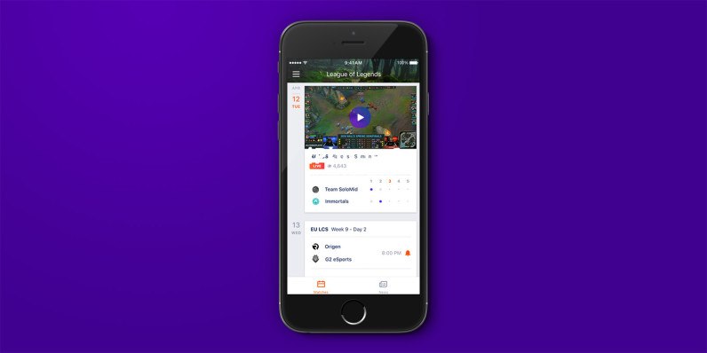 Yahoo s latest iOS app brings you esports news and scores