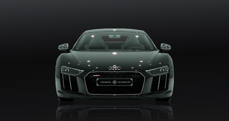 Audi Built A Final Fantasy Themed Special Edition Sports