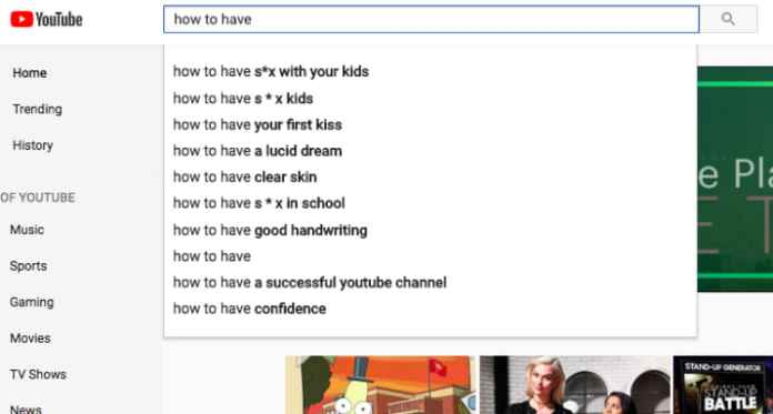 youtube suggests