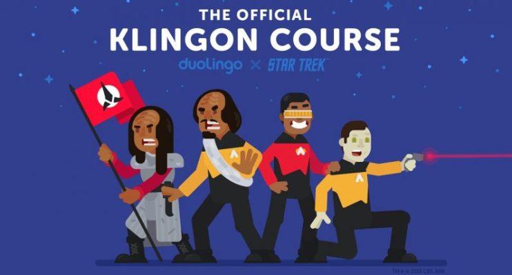 Rejoice for Duolingo's Klingon course has finally arrived