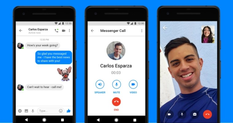 Facebook adds video calling to Messenger Lite on Android