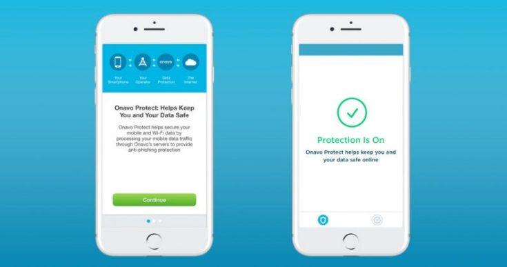 Onavo protege la aplicación VPN