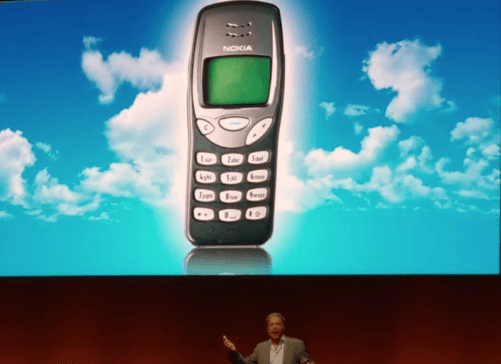 Bruce Dickinson Nokia 3210
