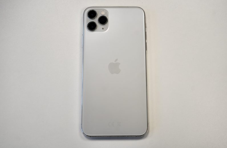 apple iphone 11 pro max from rear
