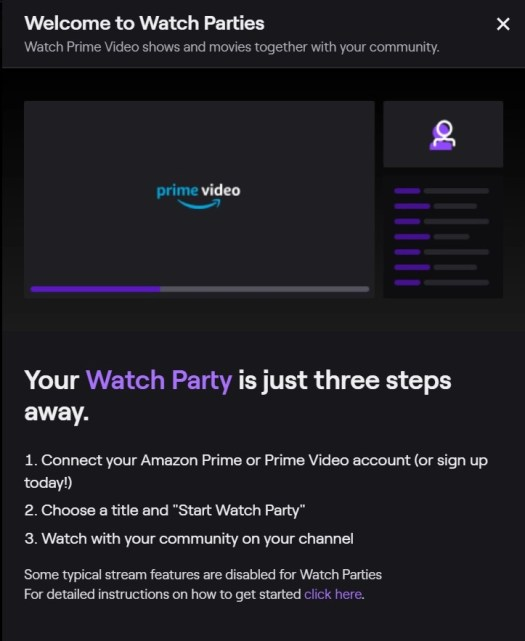 How to use Twitch's new Watch Party feature to binge shows with viewers 2