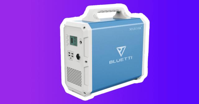 weird gift 2020 outdoors power station Bluetti EB240
