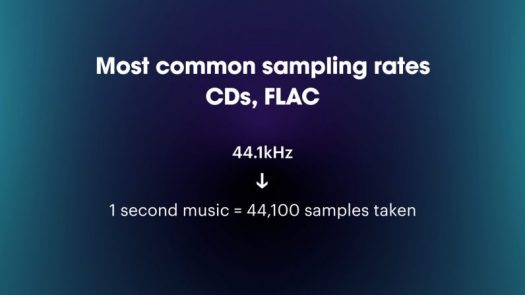 5 CD and FLAC most common sample rate