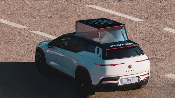 Fisker s'apprête à produire la première papamobile tout électrique