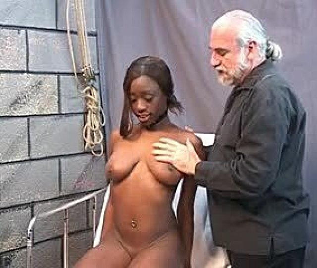 Young Black Girl Has Her Pussy Stretched Out With A Speculum After Clip Play Tubev Sex