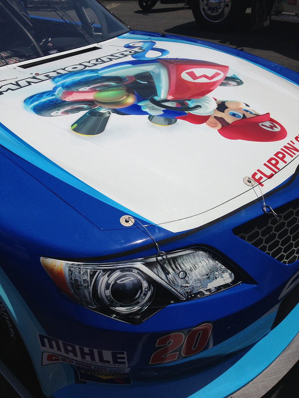 Mario Kart 8 Heads Into A NASCAR Race This Weekend Polygon