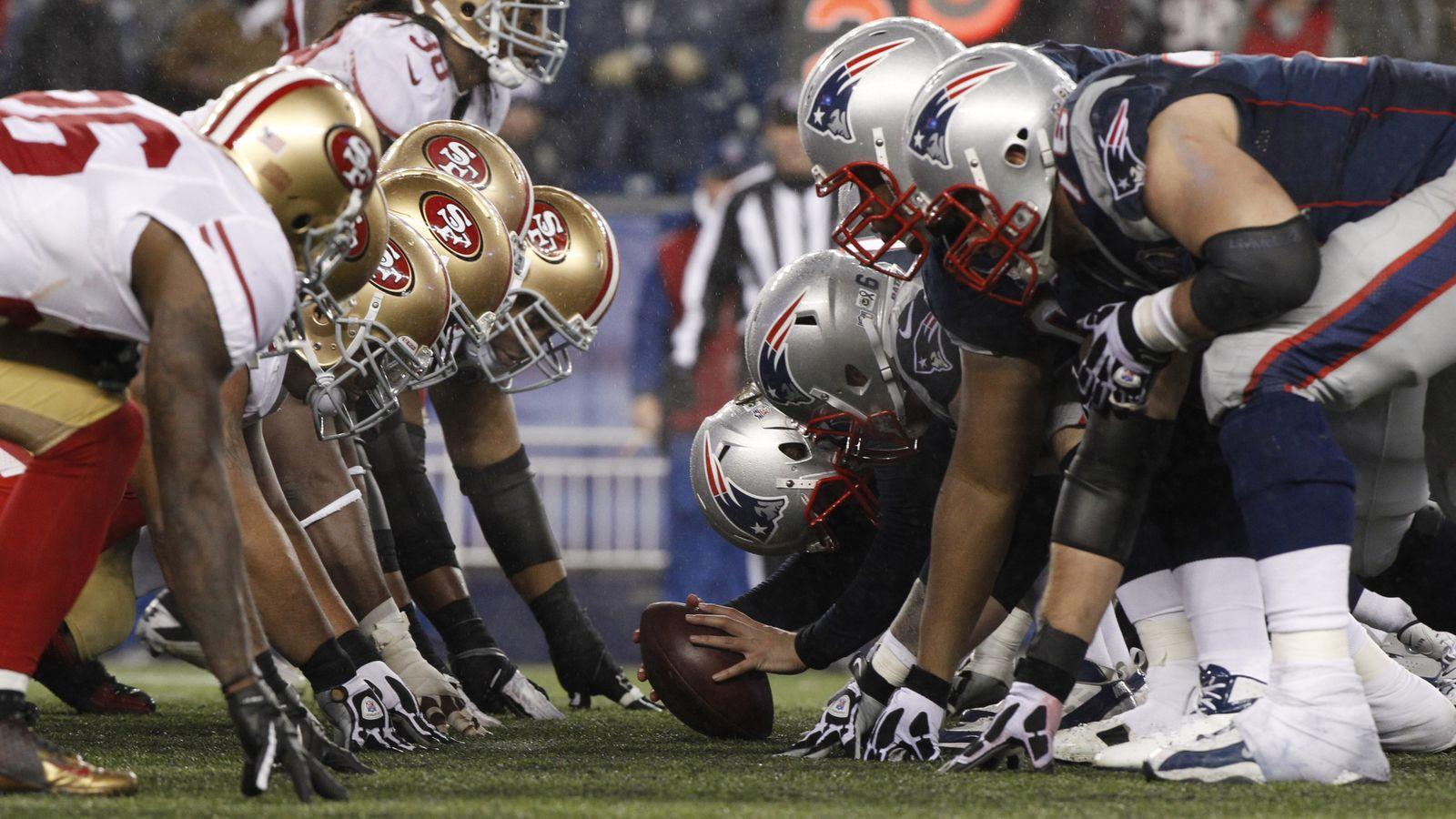 Eagles Patriots Field Vs Football New England