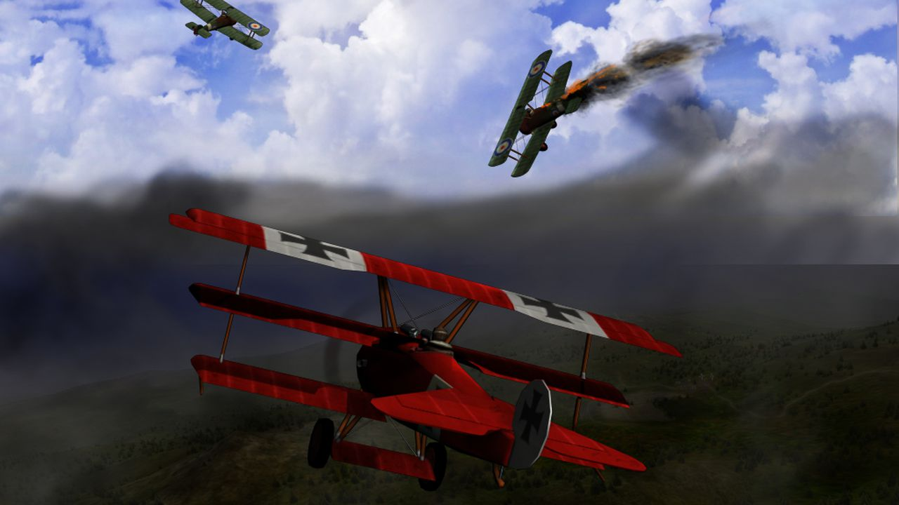 The Red Baron Prepares To Fly Again Polygon