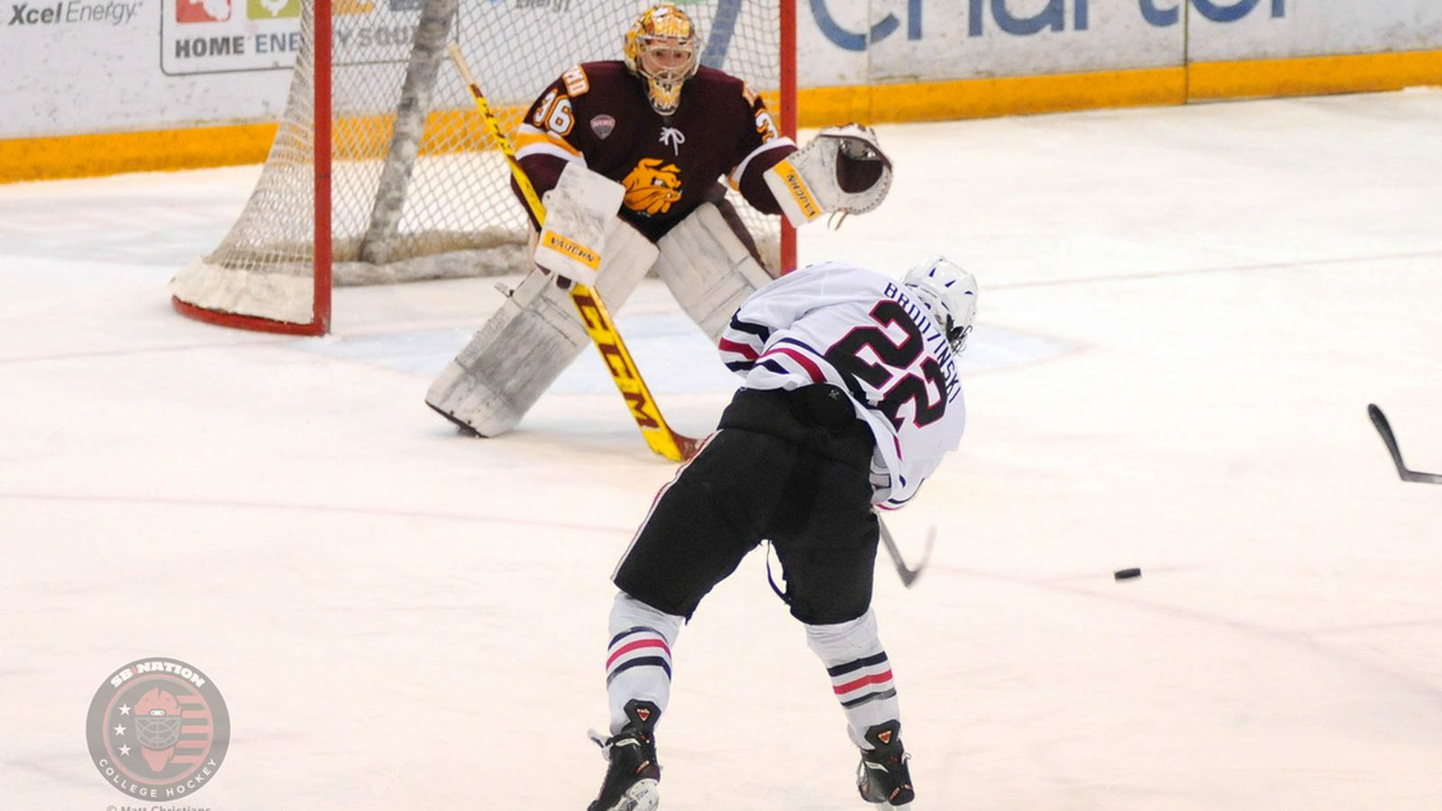 NCHC Playoffs: St. Cloud State Claims Inaugural Penrose