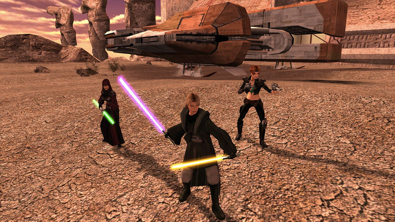 Star Wars Knights Of The Old Republic 2 Just Got A Huge