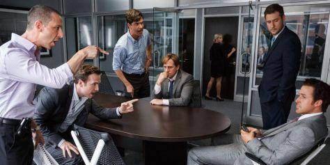 Ryan Gosling krijgt er van langs door de crew van Steve Carrell