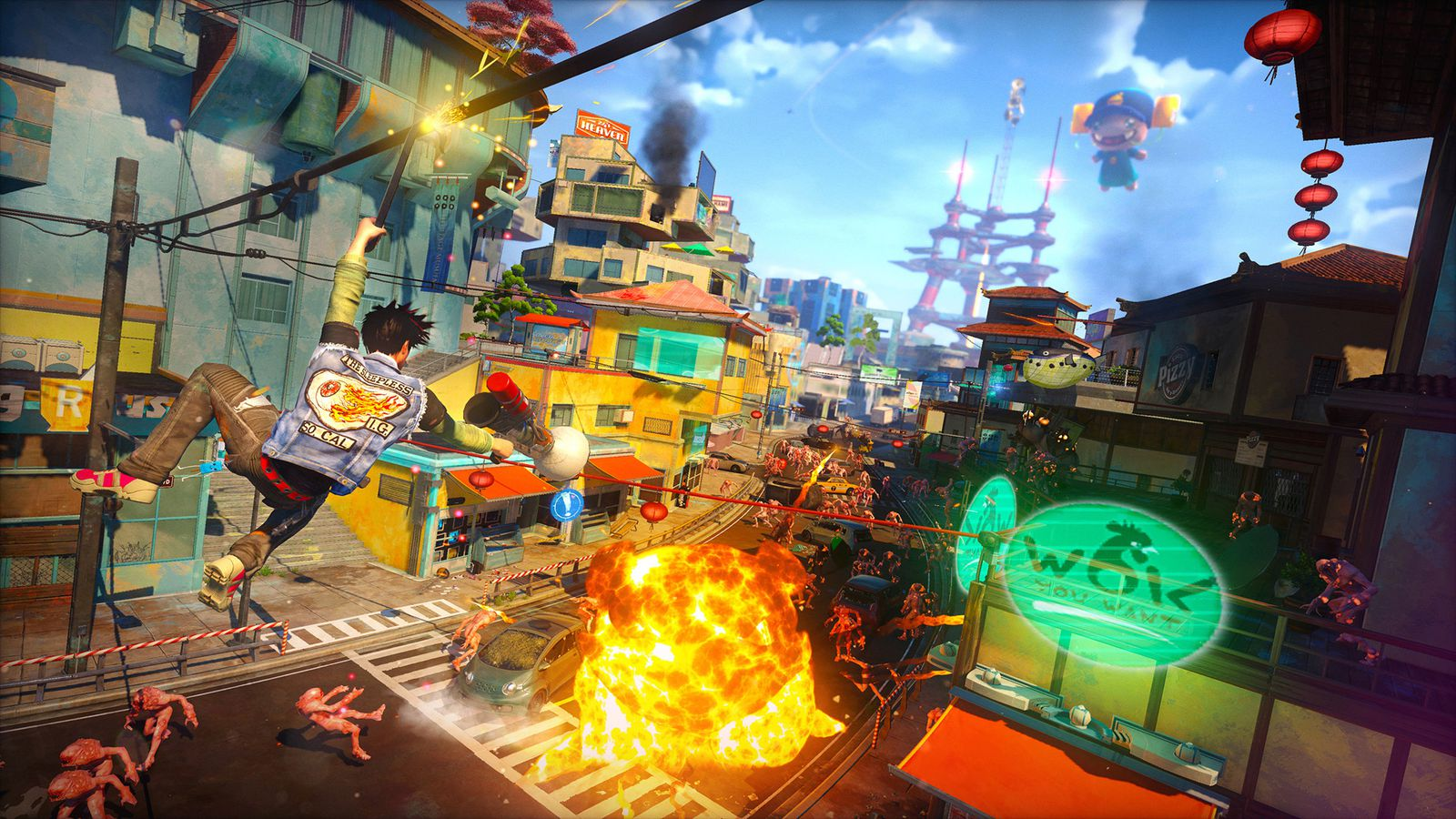 Full download fortnite battle royale usb mod menu on pc xbox one amp ps4 working fortnite mod menu trolling hacks video and games with. Sunset Overdrive turns the post-apocalypse into an energy