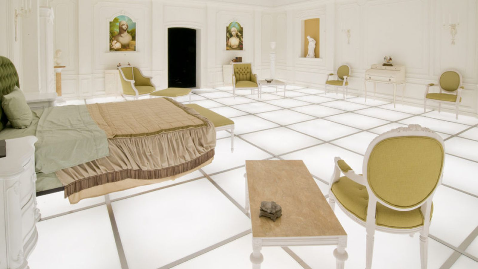 Iconic 2001 A Space Odyssey Bedroom Scene Recreated In
