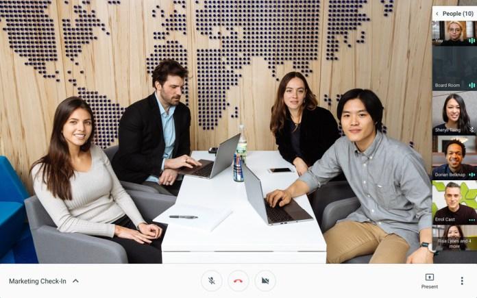 Google Hangouts Video chat yang lebih baik dan tertata rapi cocok untuk berbisnis.